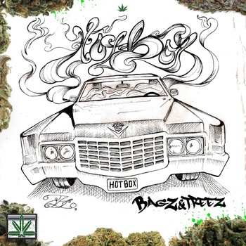 Dank Music: The Hotbox Mixtape by Bagz and Treez